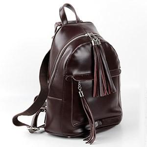 Кожаная сумочка или рюкзак