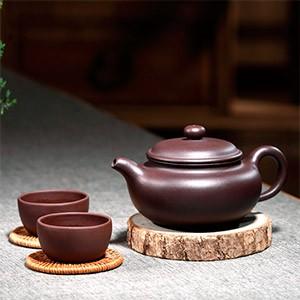 Чайник для заваривания чая с пиалами
