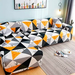 Яркие чехлы на диван