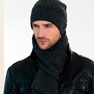 Набор из шапки с шарфом