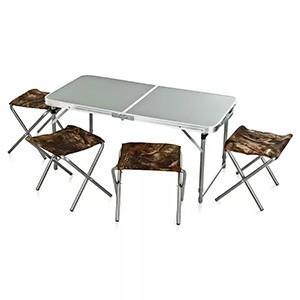 Раскладной столик и стул