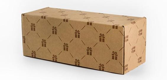 Фирменная картонная коробка