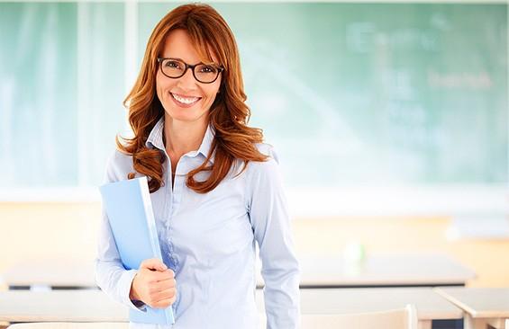учитель женщина