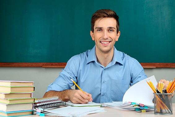 учитель мужчина