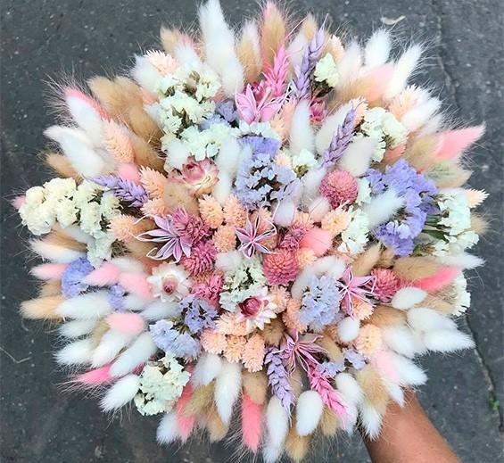 цветы пастельных тонов