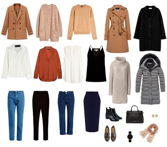 Пример базового гардероба