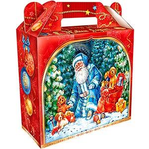 Новогодний подарочный набор конфет