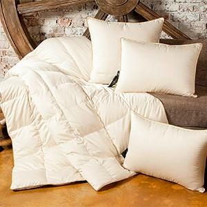 Новая подушка и одеяло
