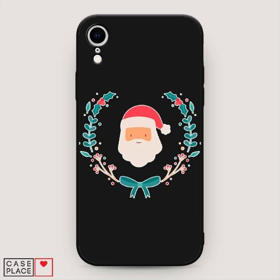 Чехлы на телефоны на Новый год с Санта-Клаусом