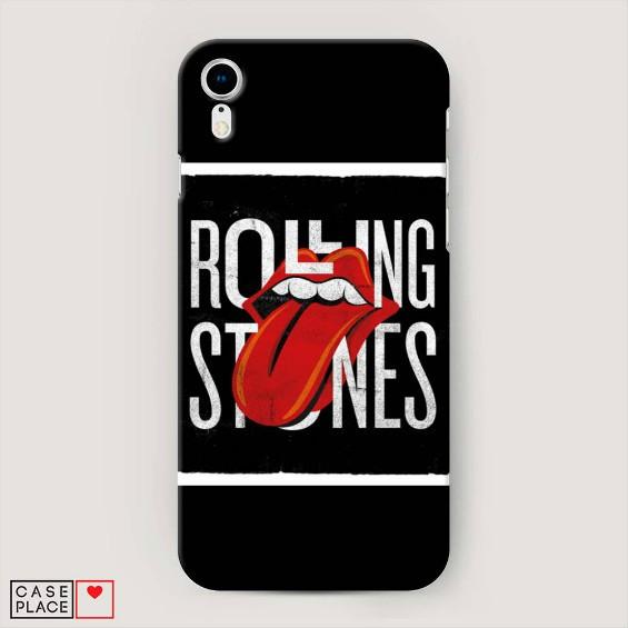Чехол для iPhone 10R Rolling Stones