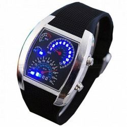 Часы со спидометром