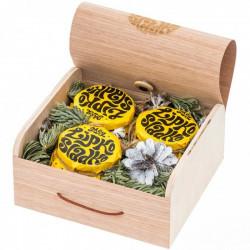 Именной подарочный набор мёда