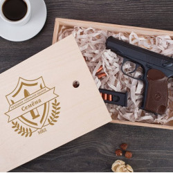 Именной шоколадный пистолет